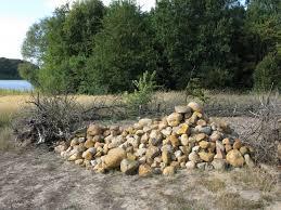 pile of fieldstones