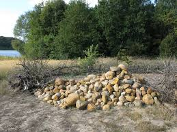 pile of fieldstones