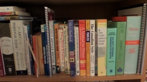 Writer and Self-editor reference library